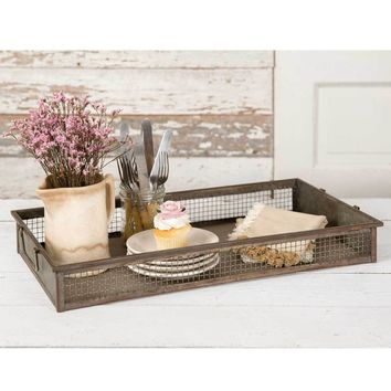 Screen Wire Tray
