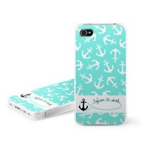 Refuse to Sink Design Snap on Hard Case Faceplate Cover for Apple iPhone 4 / 4S 16GB 32GB 64GB: Cell Phones & Accessories