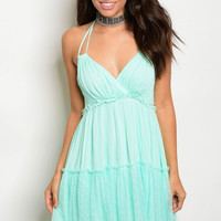 Mint Layer Dress