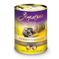 ZIGNATURE CANNED DOG FOOD - ZIGNATURE TURKEY - 12/13OZ - Pets Global - UPC: 888641131273 - DEPT: OTHER PET FOODS