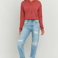 BDG Cropped Hoodie - Urban Outfitters