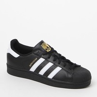 Women's Black Superstar Sneakers
