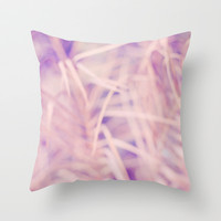 PALM Throw Pillow by Lauren Lee Designs