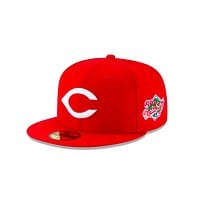"New Era ""Cincinnati Reds"" 1990 World Series Grey Bottom 59Fifty Fitted Hat"