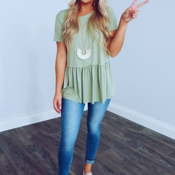 Today Is The Day Top: Sage