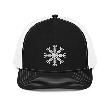 Helm of Awe Aegishjalmr Trucker Cap