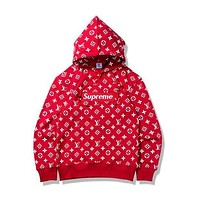 Couple Pullover Hoodies Casual Hats Jacket