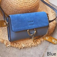 Hot Sale ''Chloe '' Trending Women Stylish Leather Shoulder Bag Crossbody Satchel Blue I-WXZ2H
