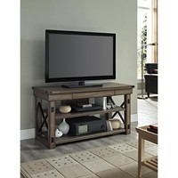 Altra Wildwood Rustic Grey Wood Veneer 50-inch TV Stand   Overstock.com Shopping - The Best Deals on Entertainment Centers