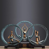 Beautiful Yoga Sculpture  for Home and Office decoration