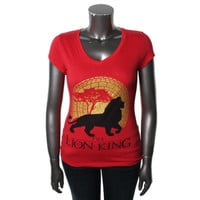 Disney Womens Lion King Graphic T-Shirt