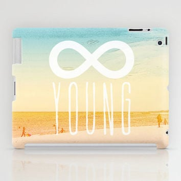 Forever Young iPad Case by M Studio - iPad 2nd, 3rd, 4th Gen, and iPad Mini