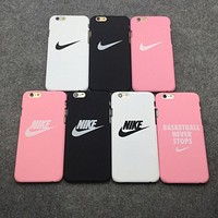 Nike matte couple mobile phone shell iPhone 5 5s 6 6s 6plus 6s plus iPhone 7 iPhone 7 F