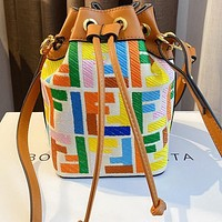 Fendi 2020 new drawstring bucket bag shoulder bag crossbody bag