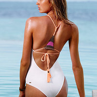 Macramé-back One-piece - Victoria's Secret