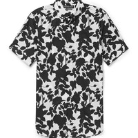 Alexander McQueen - Brad Slim-Fit Floral-Print Cotton Shirt