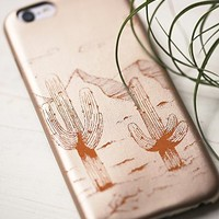 Understated Leather for Free People Womens Desert Leather iPhone Case