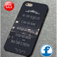 One Direction Story Lyric for iphone, ipod, samsung galaxy, HTC and Nexus Phone Case