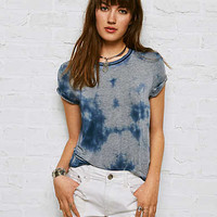 Don't Ask Why Boxy Crop T-Shirt, Blue