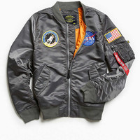Alpha Industries L-2B NASA Bomber Jacket - Urban Outfitters