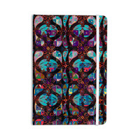"""Suzanne Carter """"Pattern"""" Multicolor Abstract Everything Notebook"""