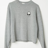 ACACIA ALIEN PATCH SWEATSHIRT