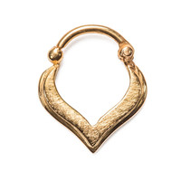 Freya Teardrop Septum Clicker