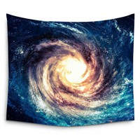 Outer Space Galaxies Andromeda Wall Tapestry Hanging Art Tapestries Blanket Home Decor