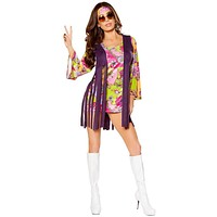 Dazed and Confused Women's Hippie Halloween Costume