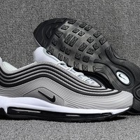 Nike Air Max 97 Grey/Black Running Shoes Size 40-47