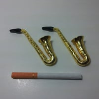 Miniature Saxaphone Smoking Pipe