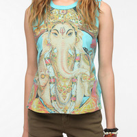 Urban Outfitters - Truly Madly Deeply Ganesha Muscle Tee