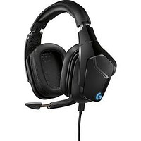 Logitech G935 Wireless 7.1 Surround Lightsync Gaming Headset - Stereo - USB, Mini-phone - Wired-Wireless - 65.6 ft - 5 Kilo Ohm - 20 Hz - 20 kHz - Over-the-head