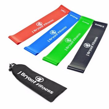 Resistance Band Set 4 Levels Available Training Rubber Bands