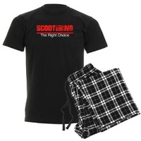 Scootering The Right Choice (d Men's Dark Pajamas> DoubleWhip Apparel