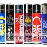 OFFICIAL CLIPPER LIGHTER FOOTBALL SOCCER CLUB TEAM EDITION ENGLAND LEAGUE