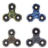 Tri-Spinner Fidget Toys Plastic Sensory Hand Fidget Spinners For Autism and ADHD