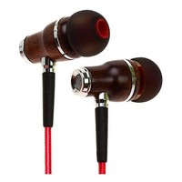 Premium Natural Wood Noise-Canceling Earphones by Symphonized
