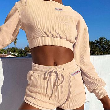 Explosive sexy elegant all-match sexy navel pit strip suit women