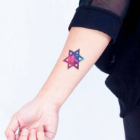 Tattoo Stickers: Cosmic Power (2 patterns)