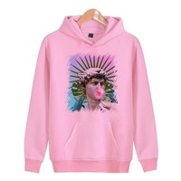 Vaporwave  Autumn Hoodies Men Coat Men/Women Casual Print Harajuku Hoodie Sweatshirt Plus Size X4602