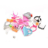 Colorful Fashion Accessories For Barbie Shoes Earings Bags Necklace Kids 3C#