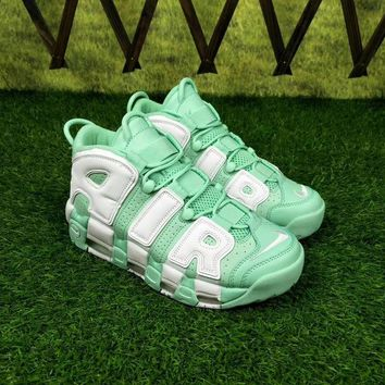 """Nike Air More Uptempo """"Island Green"""" Sneakers - Best Deal Online"""