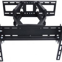 "VideoSecu Articulating TV Wall Mount Bracket for 26""-55"" LCD LED Plasma 3D TV with VESA up to 400x400, Full Motion Tilt Swivel Dual Arms BD4"