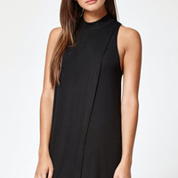 Kendall and Kylie Overlay Mock Neck Dress at PacSun.com