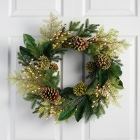 Pine Grove Forest Wreath
