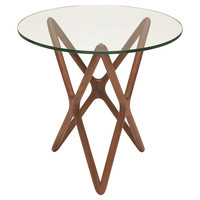 Star Glass Side Table, Standard Side Tables
