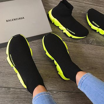 shosouvenir Balenciaga Speed  High-end socks sneakers