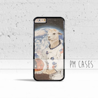 Astronaut Llama in Space Suit Case Cover for Apple iPhone 7 6s 6 SE 5s 5 5c 4s 4 Plus & iPod Touch