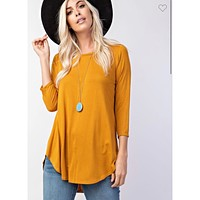 Solid Tunic - Gold